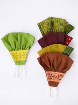 Set of 5 Patchwork Mask