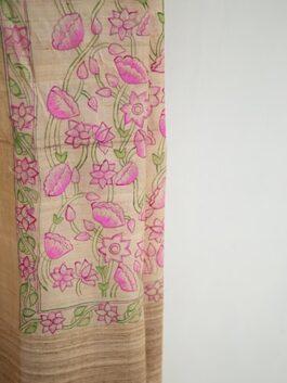 Floral Painted Beige...