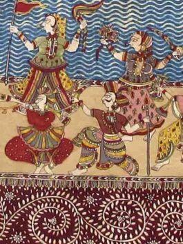 Vanvati Mata Kalamkari