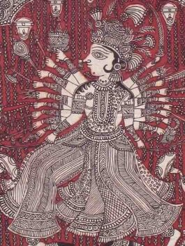 Vhisat Mata ni Pachedi Kalamkari