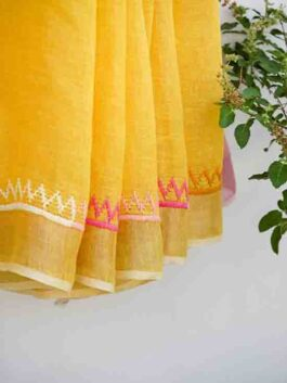 Embroidered Sar...