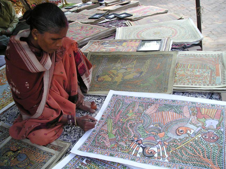 Madhubani Painter