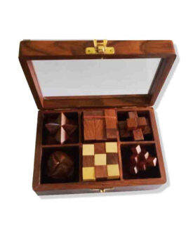 Set of Six Puzzles Box