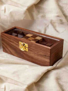 Set of Three Puzzles Box