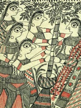 Madhubani-  Different Rituals of Marriage in Mithila