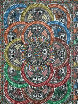 Madhubani Painted Fi...