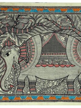 Madhubani Painted Royal Elephant March