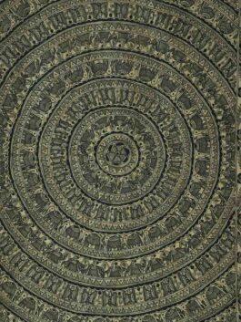 Madhubani Miniature Mandala   in Gondana Style