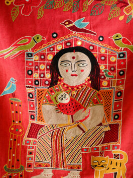 Woman with Baby Wall Hanging
