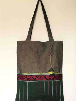 Hazel & Emerald Tote Bag