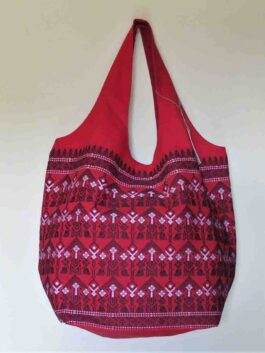 Emroidered Red Hobo ...