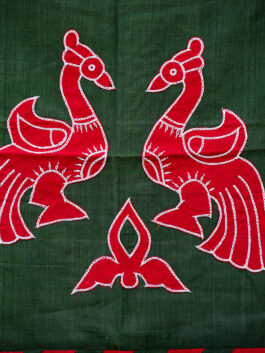 Wall Hanging: Dancing Peacocks