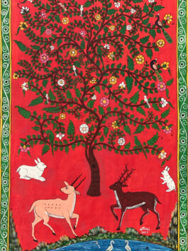 Kavad Painting: Tree of life