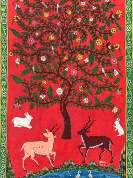 Kavad Painting: Tree of life