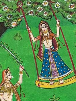 Kavad Painting:  Teej Celebration