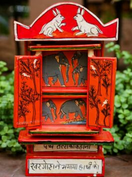 Kavad Storytelling:  Rabbit and Elephant Panchtantra Story