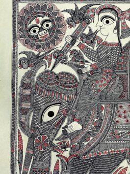 Madhubani Painted Elephant Ride