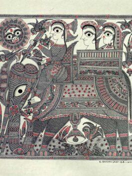 Madhubani Painted El...