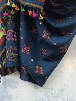 Embroidered Woolen Shawl
