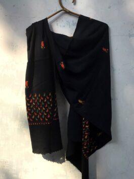Embroidered Woolen Stole
