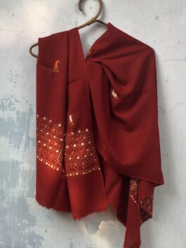 Embroidered Woolen Stole