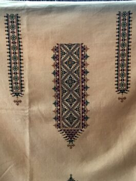 Embroidered Kurta Fa...