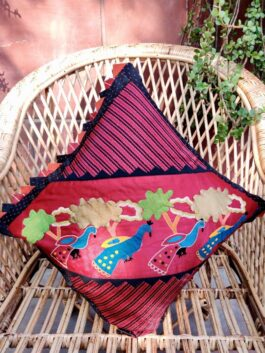 Patchwork Cushion Co...