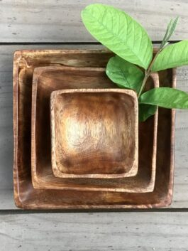 Set of 3 Square Bowls