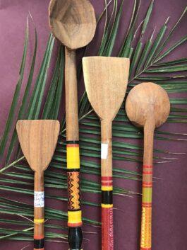 Set of Wooden Spatulas