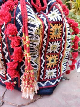Embroidered Jhola Ba...