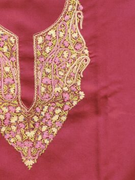 Embroidered Woolen S...