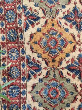Kalamkari Printed Dhurrie