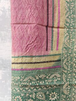 Embroidered Silk Dup...