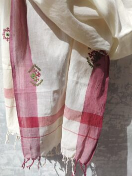 Embroidered Cotton D...