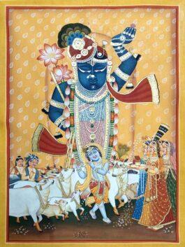 Pichwai Painting: Sa...