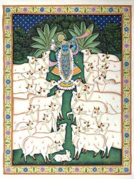 Pichwai painted Shri...