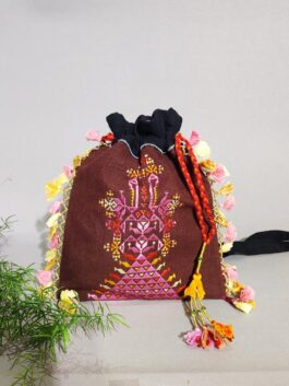 Embroidered Potli Ba...