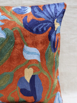 Crewel Embroidered C...