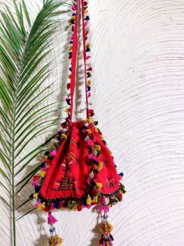 Embroidered Jhola Ba...