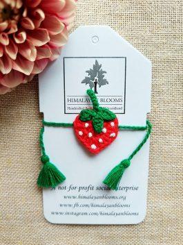 Strawberry Rakhi