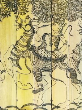 Scroll Painting- Kan...