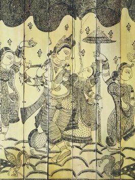 Scroll Painting- Raa...