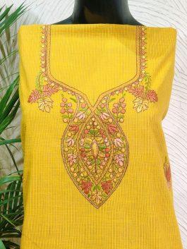 Embroidered Kurta Fa...