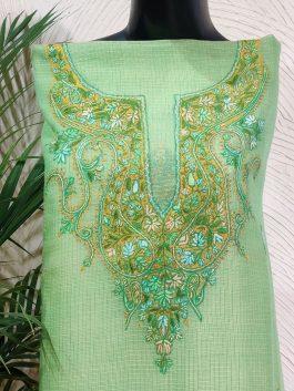 Embroidered  Kurta F...