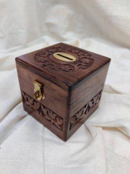 Wooden Money Ba...