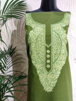 Crewel Embroidered K...
