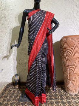Ikat Silk Saree