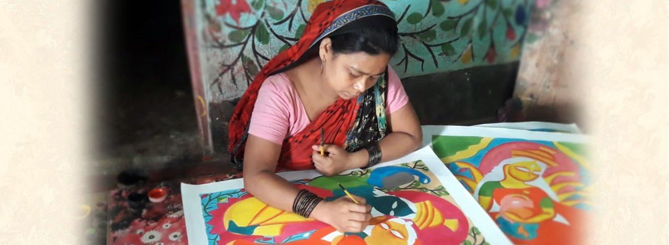 Kalighat painting_1-min